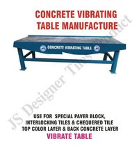 Concrete Block Vibro Forming Table