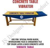 Concrete Block Vibro Forming Table