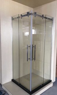 SKID - ROLLER SLIDING SHOWER ENCLOSURE