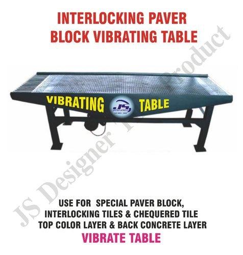 Interloking Paver Block Vibrating Table