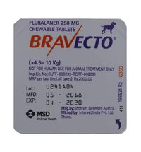 250mg Bravecto Chewable Tablets
