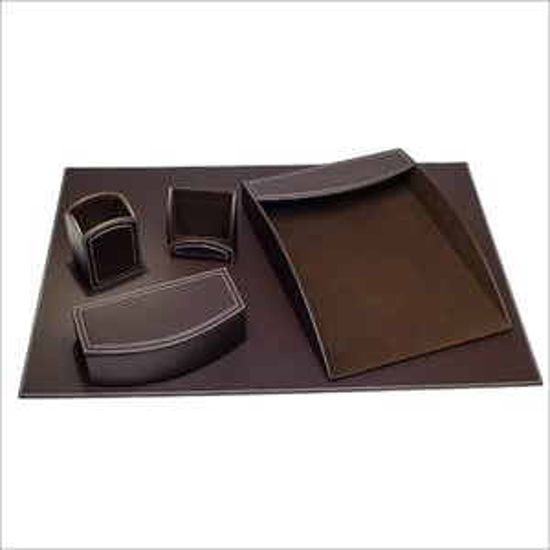 leather Desk Top Set