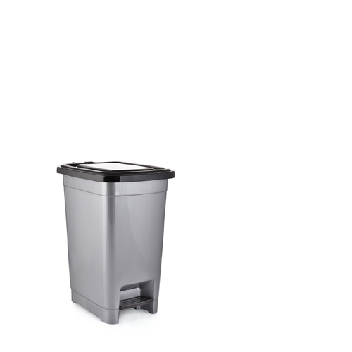 PLASTIC SLIM PEDAL DUST BIN 10LTR