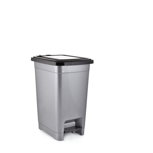 PLASTIC SLIM PEDAL DUST BIN 15LTR