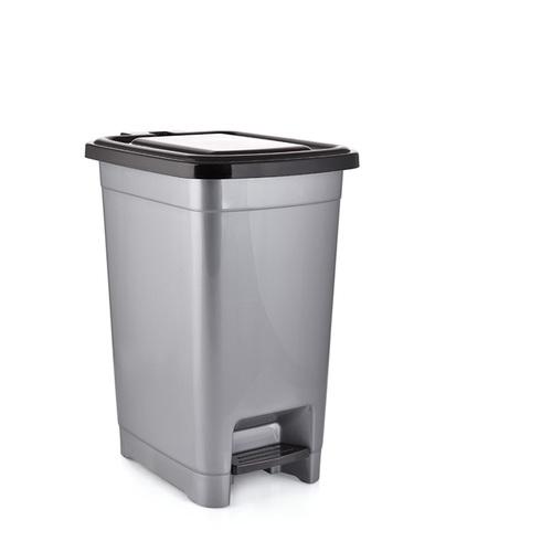 PLASTIC SLIM PEDAL DUST BIN 25LTR