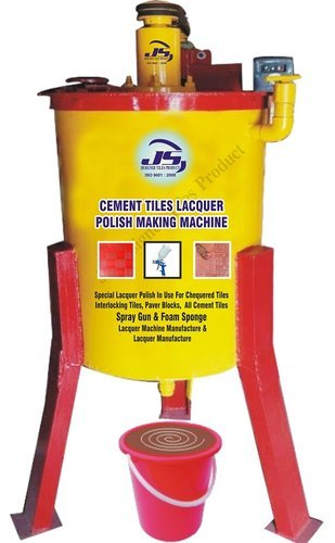 Cement Tiles Lacquer Polish Making Machine
