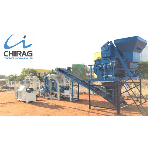 Chirag Multi-Usage Fully Automatic Cement Block Making Machine