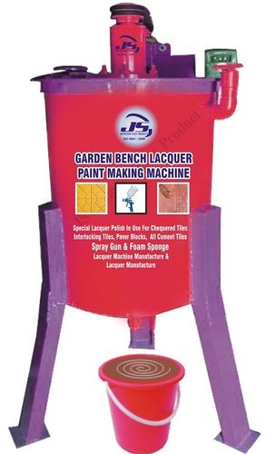 Garden Bench Lacquer Paint Making Machine