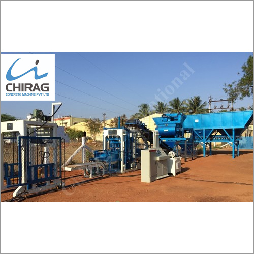 Chirag Next-Gen Cement Block Making Machine