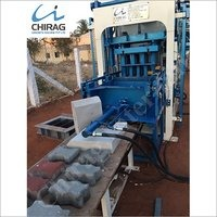 Chirag Mega Technology Manual Concrete Block Making Machine