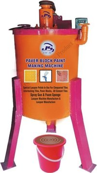 Paver Block Paint Making Machine