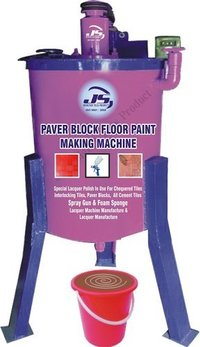 Paver Block Floor Paint Making Machine