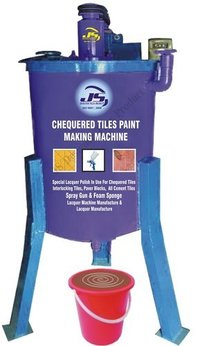 Chequered Tiles Paint Making Machine