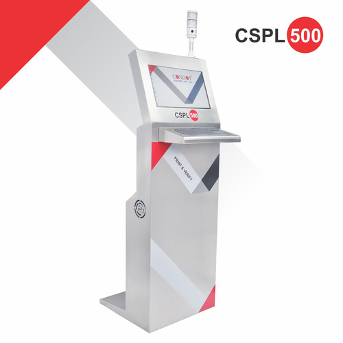 CSPL 500 Print, Verification & Rejection Mechanism on Label Applicator