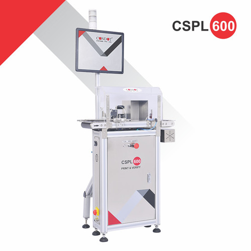 CSPL 600 Print and Verification for pharmaceutical packaging
