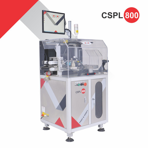 CSPL 800 Print and Verification for pharmaceutical packaging