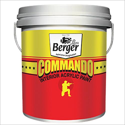 Berger Commando Interior Acrylic Paint