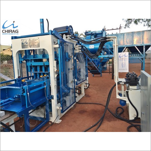 Chirag Integrated Hi-Technology Fully Automatic Brick Machine