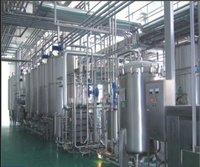 Sainless Steel Soft Drink Production Line For Yoghurt Milk 5000 L/H
