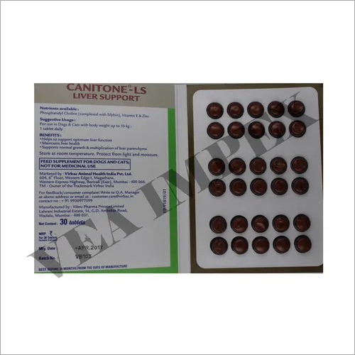 Canitone Ls Liver Support Tablets-FEED SUPLIMENT