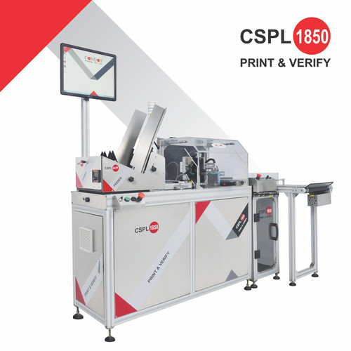 CSPL 1850 Offline Flat Carton Print and verification System