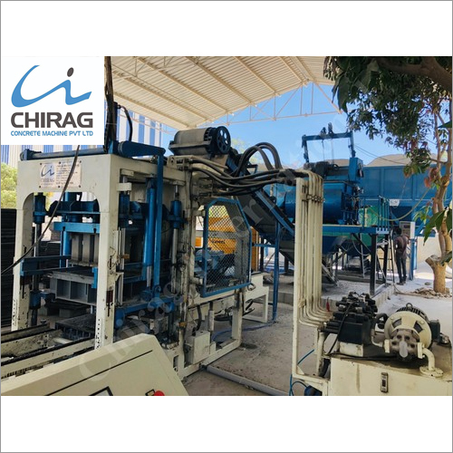 Chirag India's Best Paver Block Machine