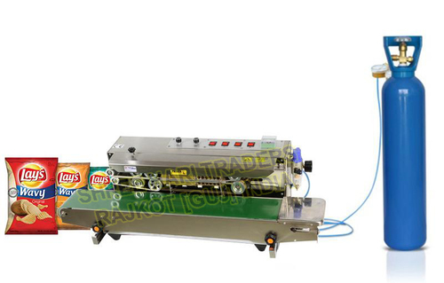 Nitrogen Air Flusing Band Sealer Machine