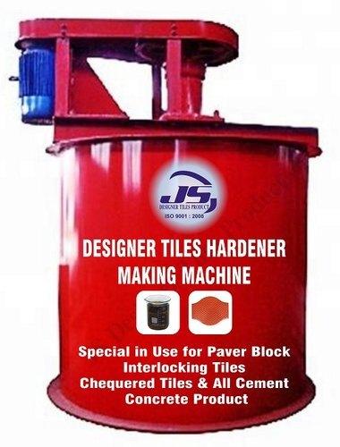 Designer Tiles Hardener Making Machine
