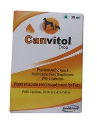 CANVITOL 30ML DROP FOR PETS