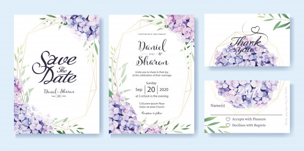 Invitation Card Design & Printing