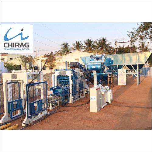 Chirag Eco Friendly High Pressure Paver Block Machine