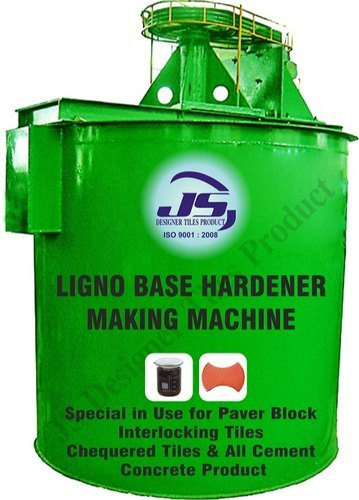 Ligno Base Hardener Making Machine