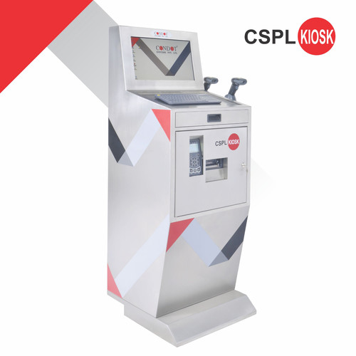 CSPL Kiosk GS1 Thermal Trasfer Printer with Hand Held Scanner