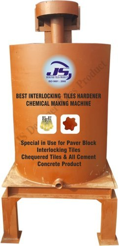 Interlocking Tiles Hardener Chemical Making Machine