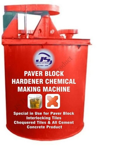 Paver Block Hardener Chemical Making Machine