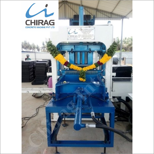 Chirag New Generation Hydraulic Block Machine