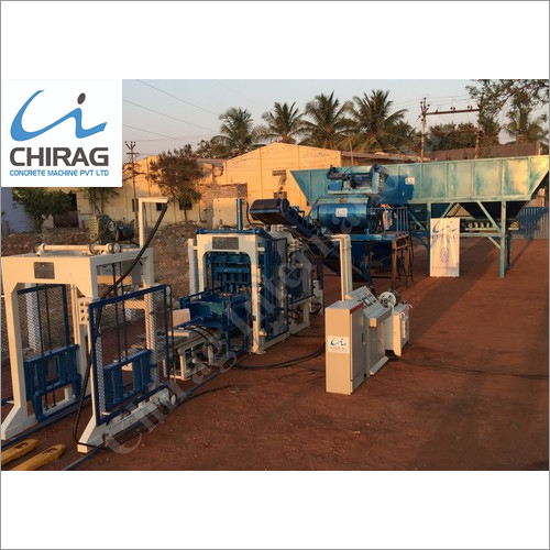 Chirag Hi-Technology Hollow Block Machine