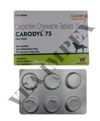 75mg Carodyl Chewable Tablets