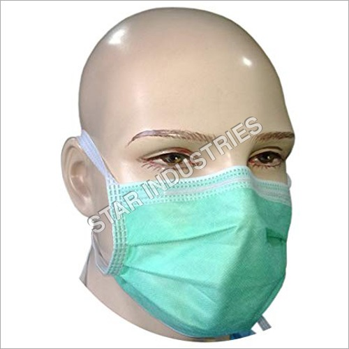 Disposable Face Tie Mask