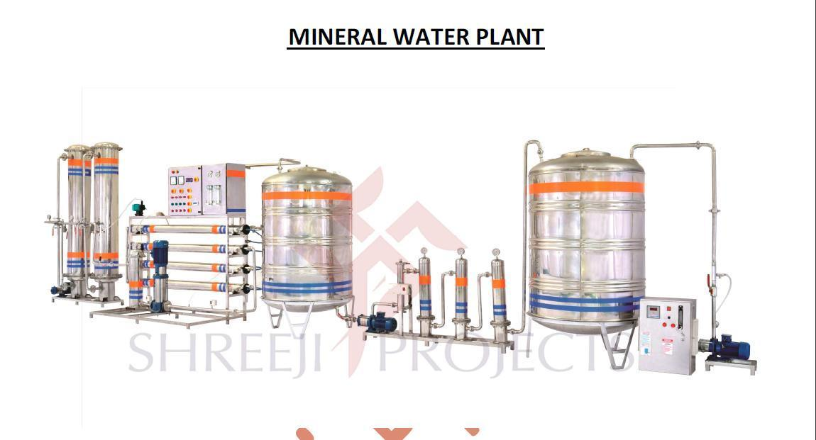 Mineral Water ISI Project (Capacity: 2000 - 20000 LPH)