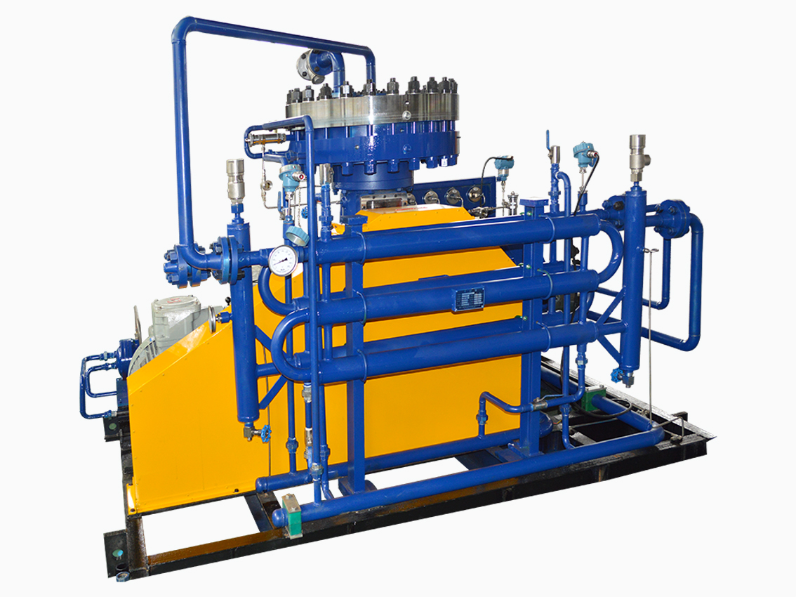 L Type Diaphragm Compressor