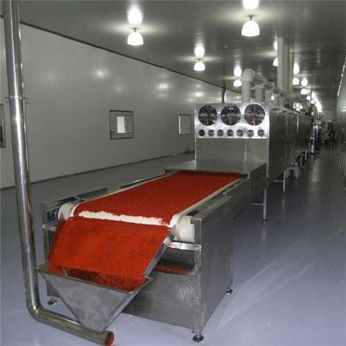 Tunnel Microwave Spices Sterilizer