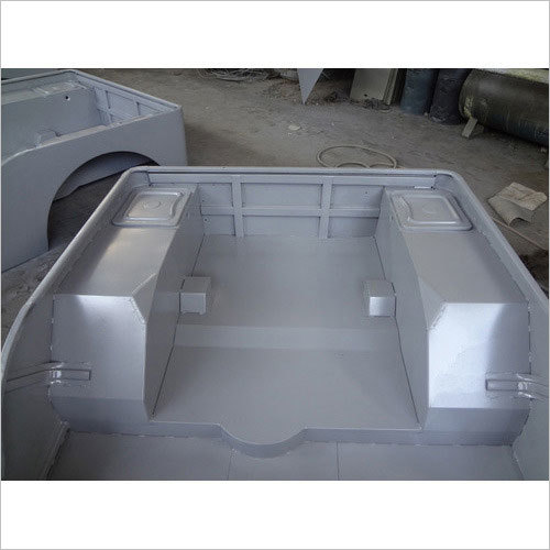 Ford Willys Body Shell Inner View