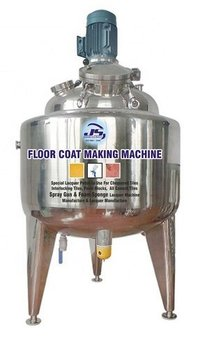 Floor Top Coat Making Machine