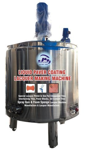 Liquid Paver Coating Lacquer Making Machine