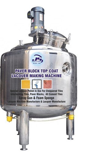 Paver Block Top Coat Lacquer Making Machine