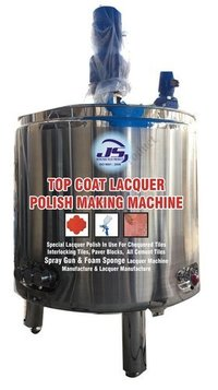 Top Coat Lacquer Polish Making Machine