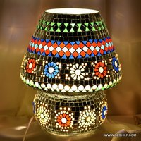 Mosaic Antique Table Lamp