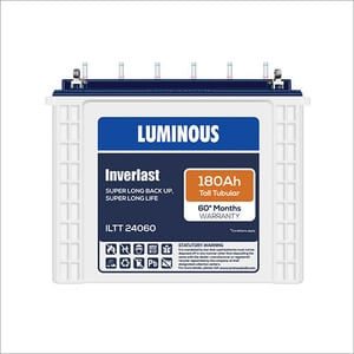 Tall Tubular Luminous Inverter Battery