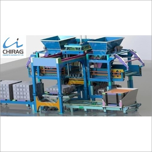 Chirag All In One Concrete Block Making Machine